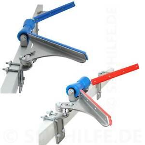 ZENTRO Zentrierhilfe (zur Zeit ausverkauft!) - blau/rot   Sliphilfe Boot Trailer