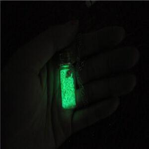 Graniglia sabbia in vetro che si illumina al buio per bottigliette pozioni