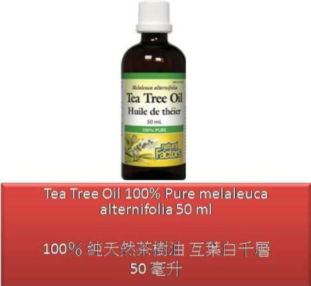 50 ml Tea Tree Oil 100% Pure melaleuca alternifolia - Natural Factors