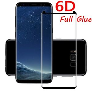 low priced 5c2db ddcd2 Details about Samsung Galaxy S8/S9+ Note 8 Full Glue 6D Curved Tempered  Glass Screen Protector