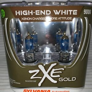 Sylvania-Silverstar-9006-ZXE-GOLD-HIGH-END-XENON-CHARGED-MORE-ATTITUDE-NEW