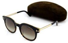 014cc9a20f3d6 item 6 NEW Genuine TOM FORD JANINA Black Gold Havana Sunglasses TF 435 FT  0435 01K -NEW Genuine TOM FORD JANINA Black Gold Havana Sunglasses TF 435  FT 0435 ...