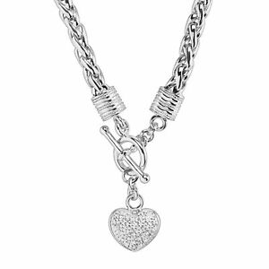1-8-ct-Diamond-Heart-Charm-Necklace-in-Sterling-Silver-18-034