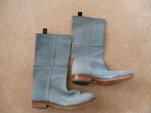 PENELOPE CHILVERS AIR FORCE BLUE SUEDE