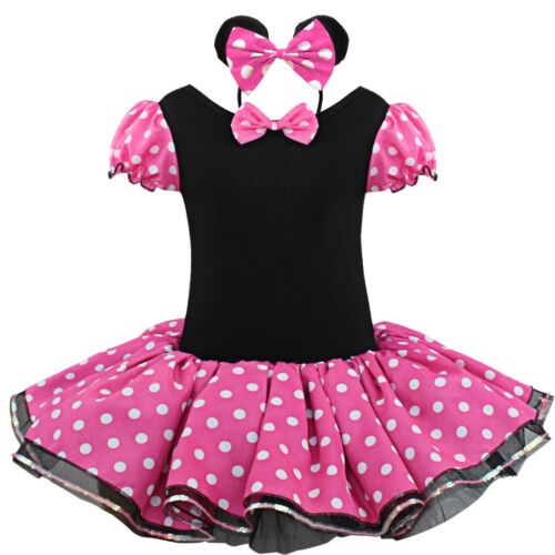 Bébé Filles Noël cartoon cosplay costume deguisement robe tutu bandeau Outfit