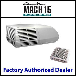 Coleman mach15 15 000 btu rv air conditioner roof ceiling for 15000 btu window unit