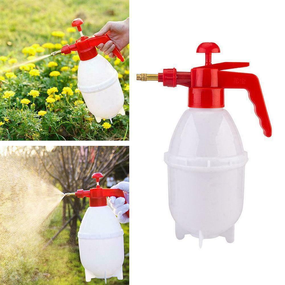0.8L/1.5L Garden Plastic Hand Pressure Sprayer Spray Bottle Can Watering T1J6