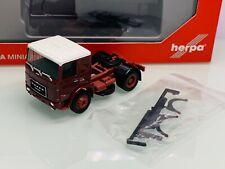 Herpa LKW Roman Diesel SZM 2achs blau 154222