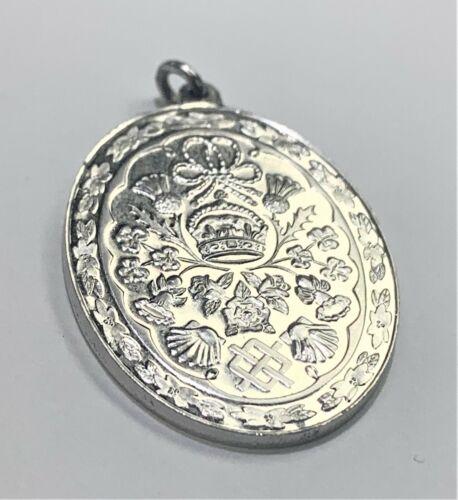The Royal Wedding Sterling Silver Pendant Of Princ