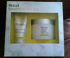 Murad Youthful Skin Set: Collagen Support Body Cream & Rejuvenating Aha Hand Cre