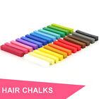 24 Piece Set DIY Temporary Hair Color Dye Pastel Chalks. Non-Toxic