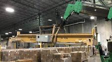 10 Ton Overhead Bridge Crane Double Girder Overide Demag Hoist 16 Span