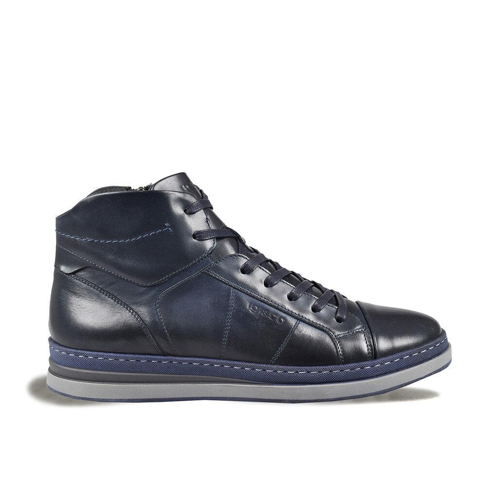 Schuhe Igi&co Herren Herbst Winter 2134122 Reißverschluss Seite