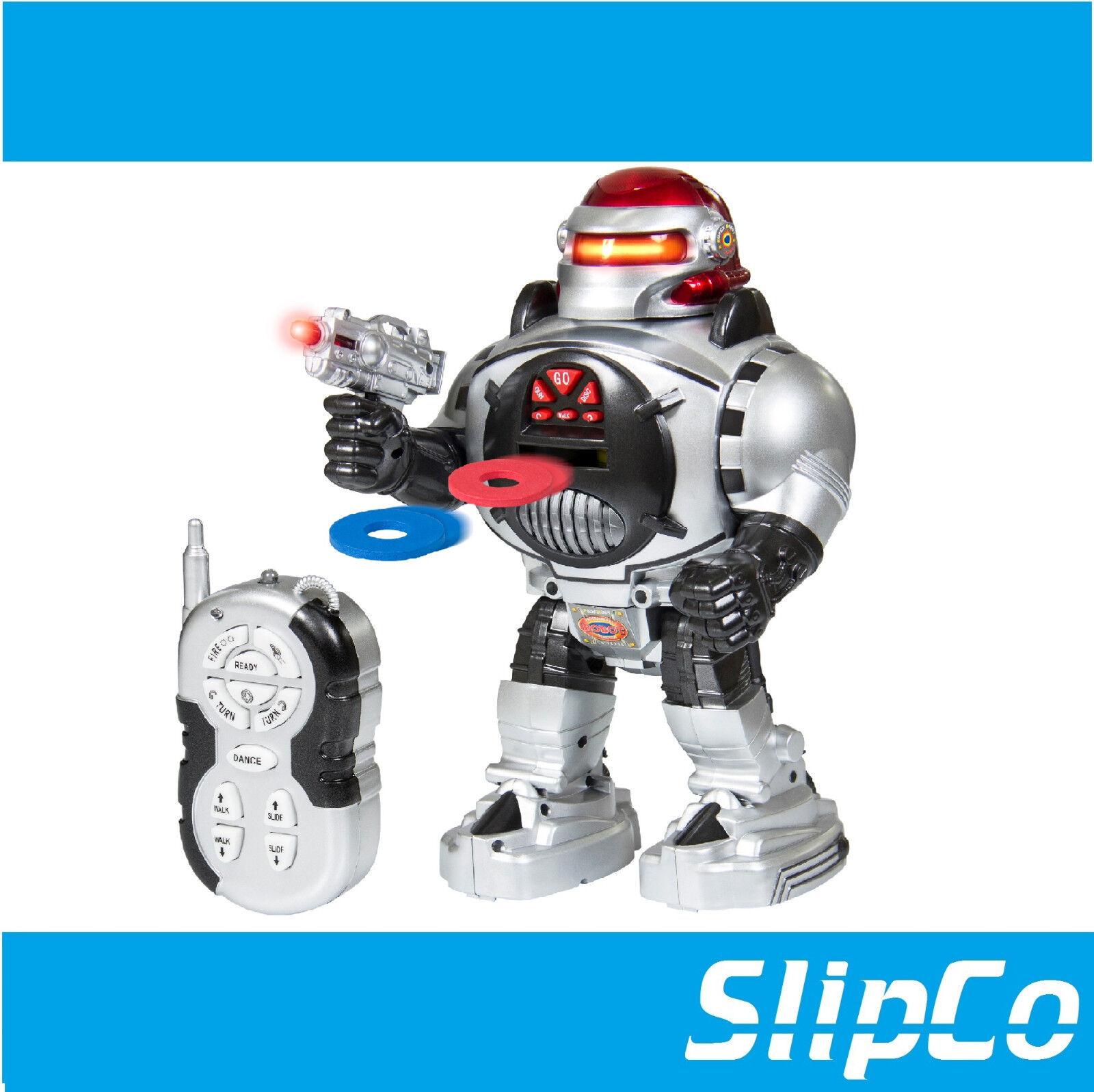 RC ROBOT TALKING SHOOTING WALKING DANCING SLIDE PET REMOTE CONTROL TOY GIFT
