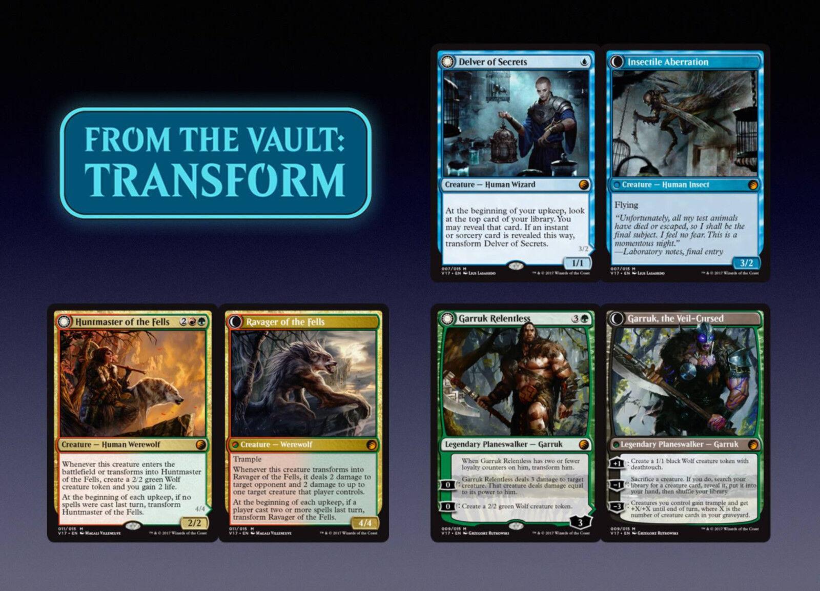Magic the Gathering From the Vault  Transform MTG FTV