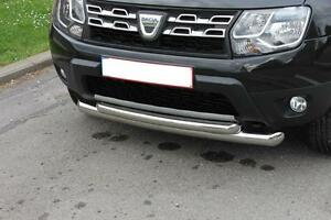 PARE-BUFFLE-INOX-DACIA-DUSTER-BULL-BAR-DOUBLE-FRONT-DUSTER-STAINLESS-STEEL
