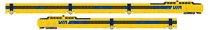 Rapido-520506-N-Scale-TurboTrain-VIA-Rail-Canada-5-Car-Set-DCC-amp-Sound