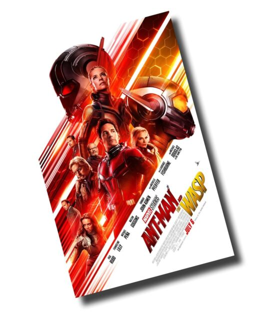 Ant Man And The Wasp Poster Movie Promo 11 X 17 Inches Antman Main