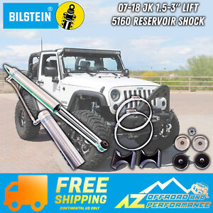 Rancho RS5000X Gas Shocks set compatible with 07-15 Jeep Wrangler JK with 3-4 lift kits