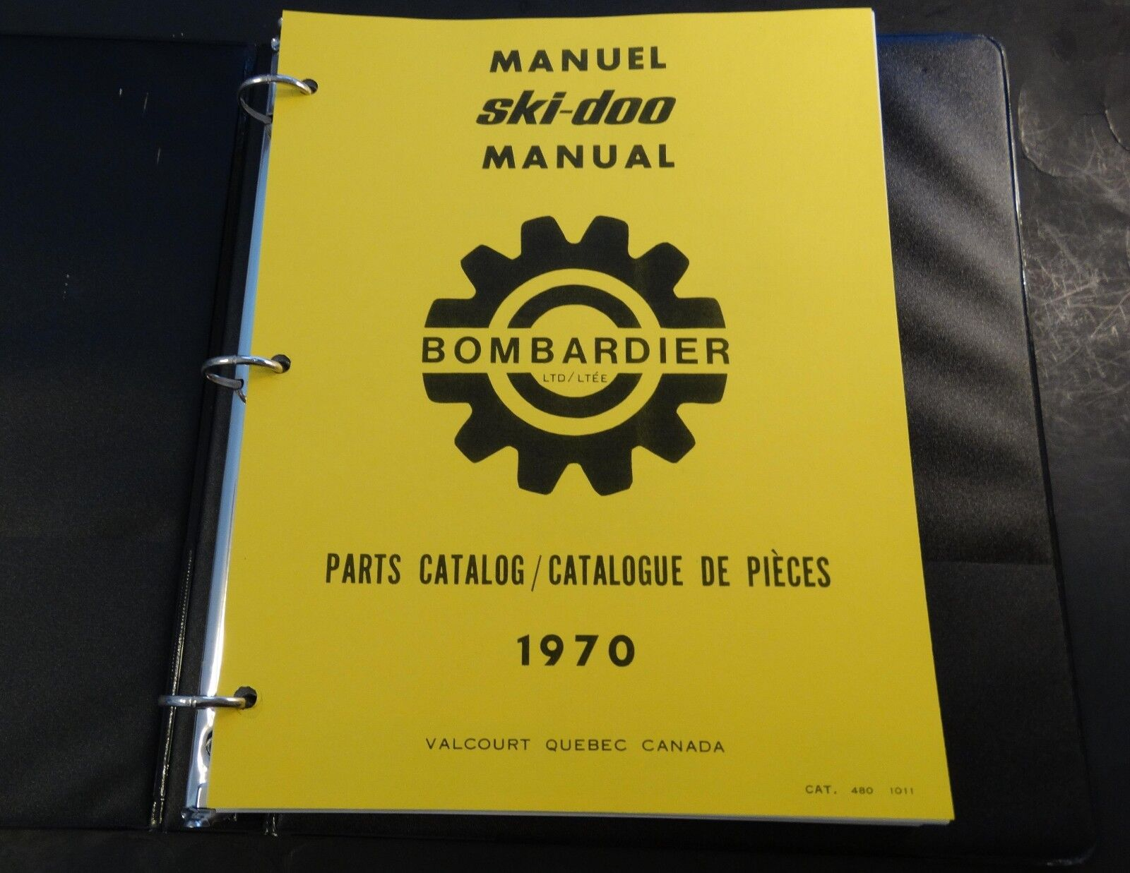 1970 SKI-DOO T'NT,  OLYMPIQUE, NORDIC,  BLIZZARD PARTS MANUAL SNOWMOBILE COPY (22  first-class service