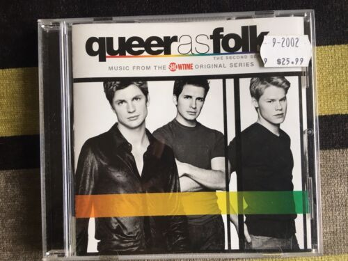 1 of 1 - Queer as Folk: The Second Season [Soundtrack] (CD) Chemical Brothers/Daft Punk