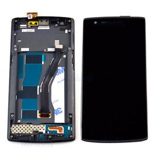 Noir-Complet-Bloc-Ecran-LCD-Vitre-Tactile-Pour-OnePlus-One-1-A0001-En-solde