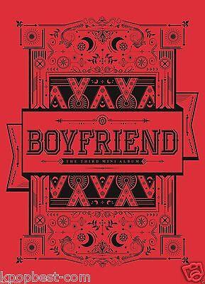 BOYFRIEND - Witch (3rd Mini Album) (CD+Post Card+Photo Card+Poster+Gift Photo)