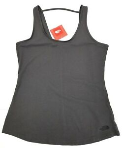 The-North-Face-Womens-ON-The-GO-Tank-Top-Sz-Large-Gray-NEW-With-Tags