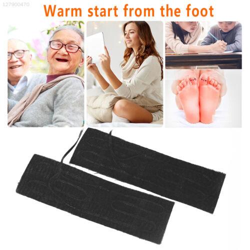 16A0 Electric Heating Pad 6x20CM USB Feet Warmer Heating Pad 2Pcs//Set Vehicle