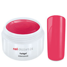 Color UV Gel FARBGEL INTENSIVROT 5ml Frenchgel Modellage Nail Naildesign Nägel