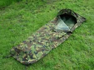 Dutch-Army-Hooped-Bivvy-Bag-Gore-Tex-Type-Camoflage-Bivy-Camo-Bivi