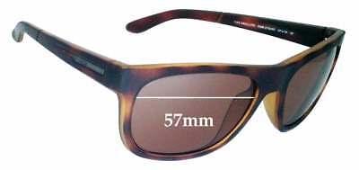 SFX Replacement Sunglass Lenses fits Quiksilver Preacher 57mm Wide