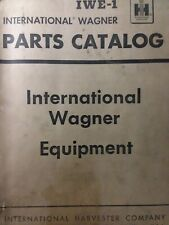 International Ih Tractor Wagner Front Loader Amp Backhoe Attachments Parts Manual