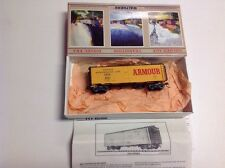 HO SCALE WALTHERS 932-2553 ARLX #8001 40' MEAT REEFER CAR ARMOUR