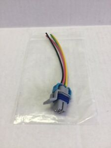 pigtail 1 gm fuel pump wiring harness plug connector 4 pin ebay Car Wiring Harness image is loading pigtail 1 gm fuel pump wiring harness plug
