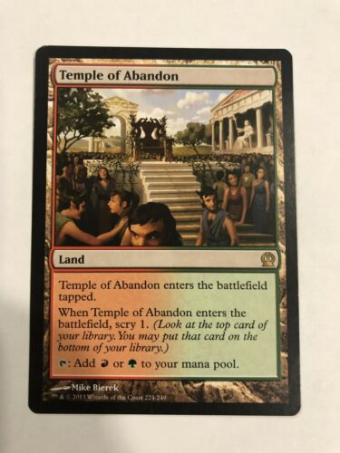MtG Temple of Abandon