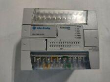 Allen Bradley Micrologix 1200 1762 L24bwar Ser C Fw 12 Controller
