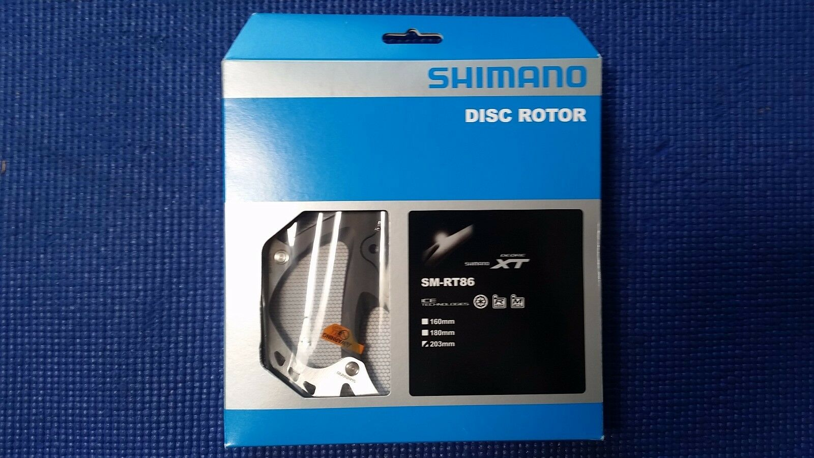Shimano XT SM-RT86S  IceTech 6 Bolt Disc Brake redor 160mm  6   in stadium promotions