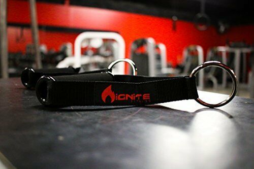 Ignite Fitness Ultra Heavy Duty Elite Exercise Handles Pair with Solid ABS Cores