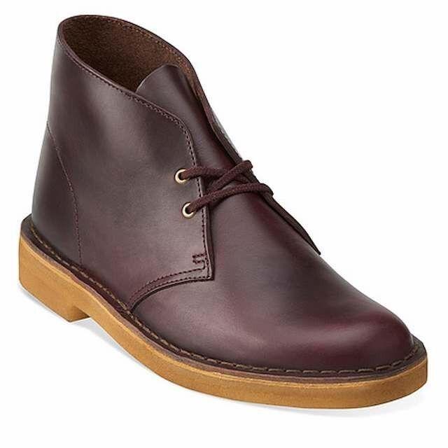 Clarks Original  X Desert Boots  Horween Wine  Lea  G
