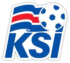 Iceland-Islanda-Island-football-calcio-adesivo-etichetta-sticker-11cm-x-10cm
