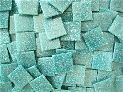 75 Pack Caribbean blue 20mm Vitreous Mosaic Tiles Tesserae