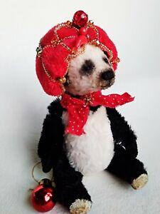 Teddy-bear-panda-Small-Myk-OOAK-Artist-Teddy-by-Voitenko-Svitlana