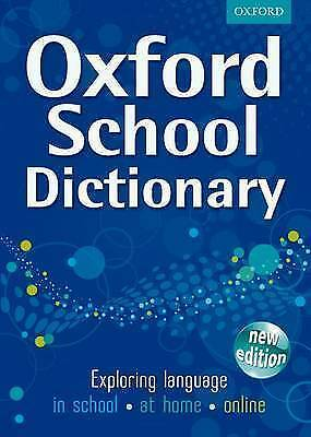 1 of 1 - OXFORD SCHOOL DICTIONARY NEW ED, Oxford Dictionaries, Good Book