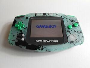 Nintendo GameBoy Advance / GBA + Backlight + Custom Case Mod Zelda
