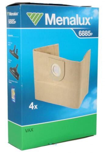 RAPIDE 9001966010 Menalux Sacchetti per aspirapolvere 6885p per Vax Wet /& Dry