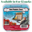Made in USA 6 or 12 Packs Pine Tree Farms Hot Pepper Suet Cake 12 oz