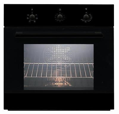 Forno Incasso Elettrico Ventilato Ignis Nero a 6 funzioni mod.AKS185/NB