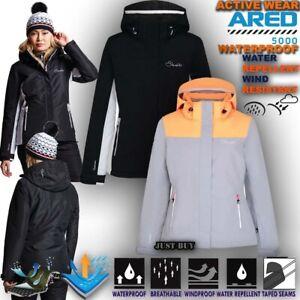 Sport Impermeabili Donna Imbottito Sci Giacca Da Trekking Snowboard 00rx56n