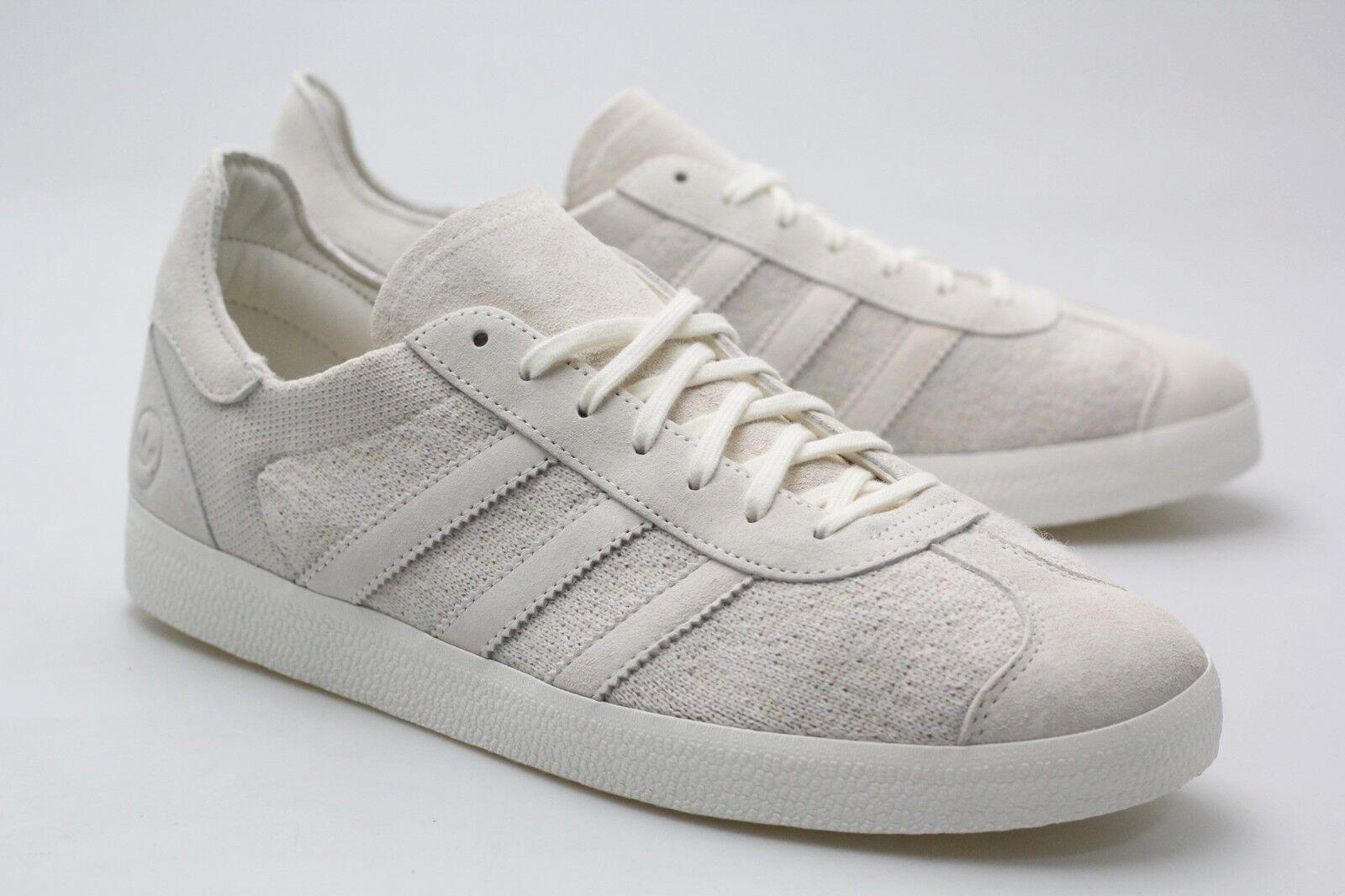 Adidas Consortium x Wings And Horns Men Gazelle Primeknit white off white BB3750
